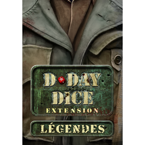 • D-Day Dice : Legendes - FRENCH VERSION